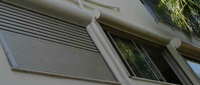 Remote Controlled aluminium shutters