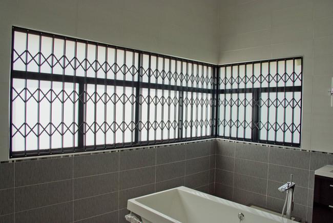 Expandable security doors windows