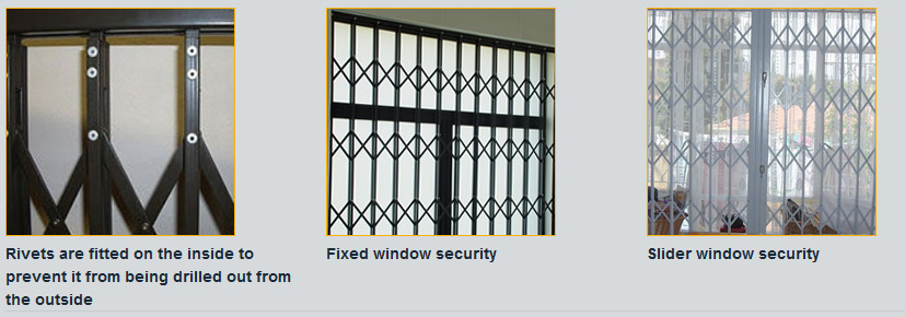 Slam Lock Security Gates / Doors/Windows